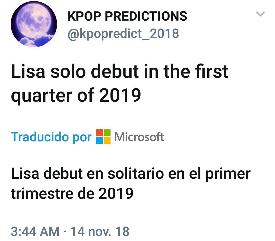 kpop predictions lisa on JumPic com